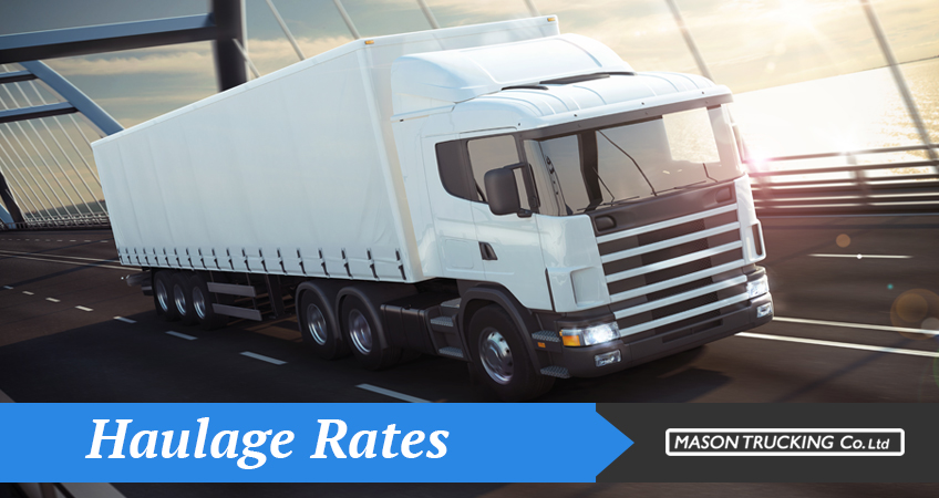 Haulage Rates UK